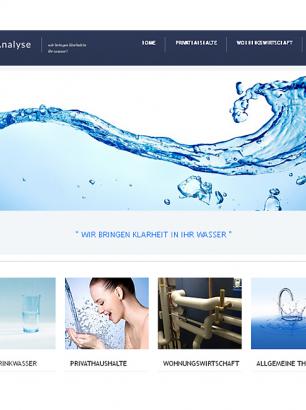 Website H2O-Analyse